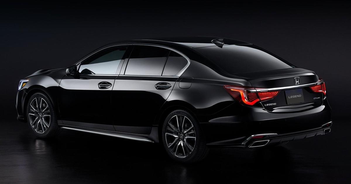 Honda Legend může jezdit s autonomním řízením třetí úrovně ...
