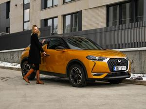 Test vozu DS 3 Crossback