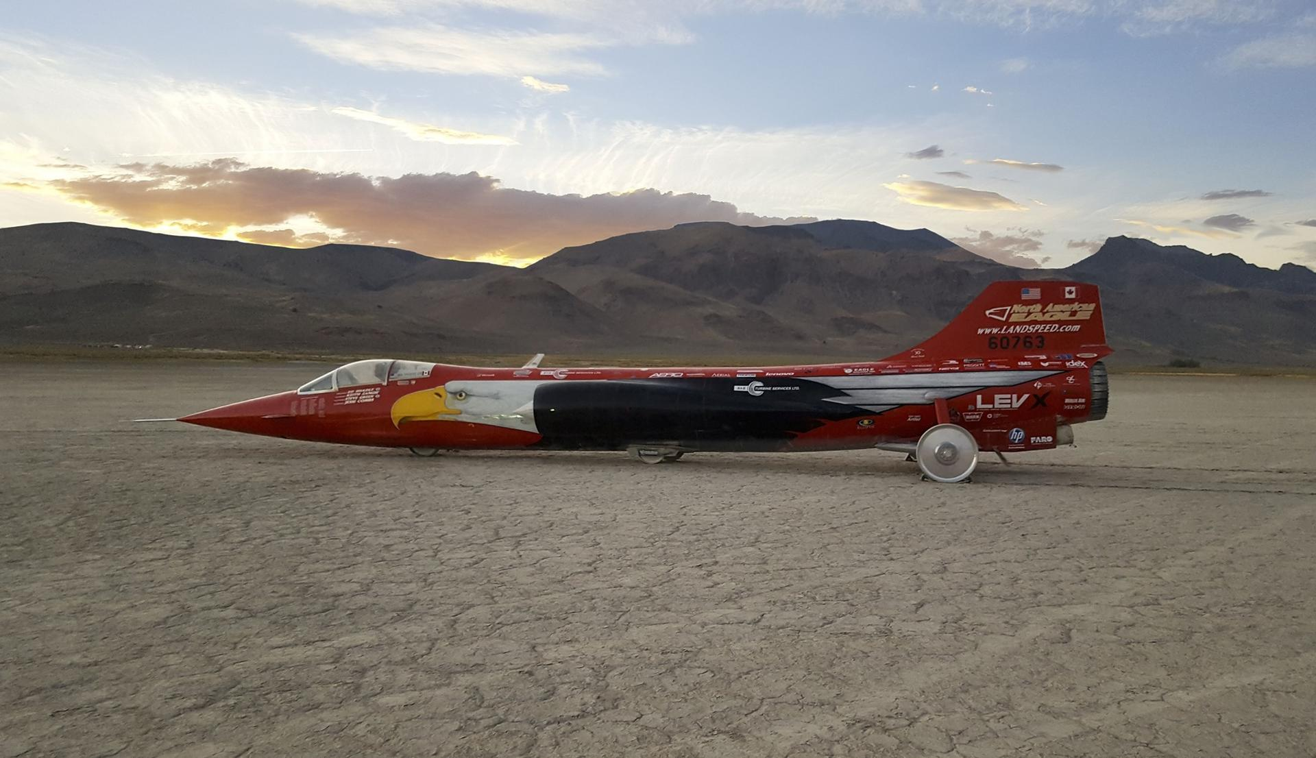 North American Eagle Supersonic Speed Challenger