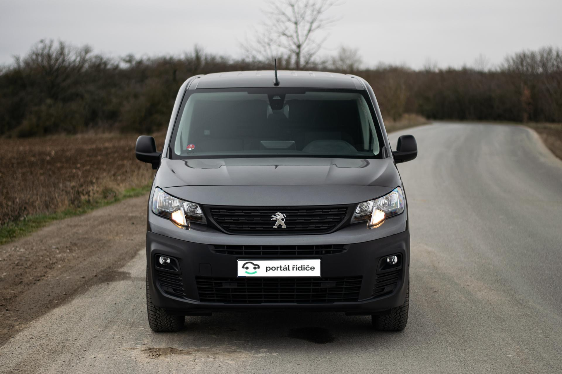 Ženský test: Peugeot Partner 1.5 BlueHDI