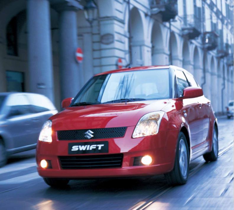 Suzuki Swift 2. generace