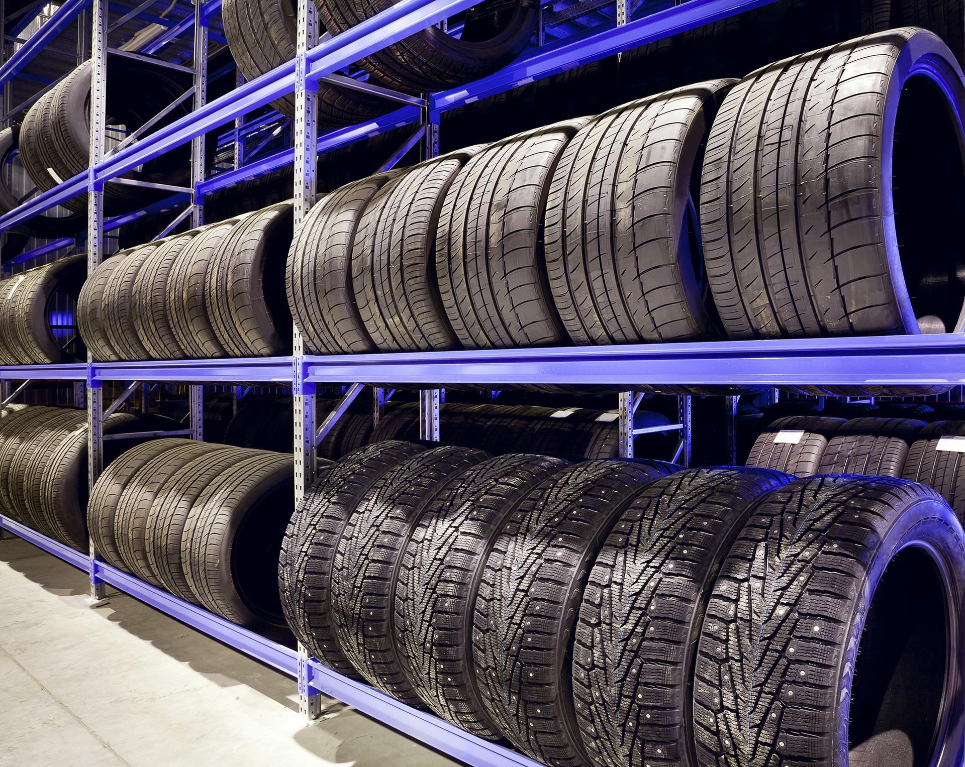 Uskladnění vašich pneumatik
